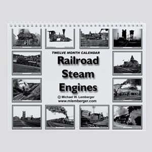 Age of Steam Wall Calendar