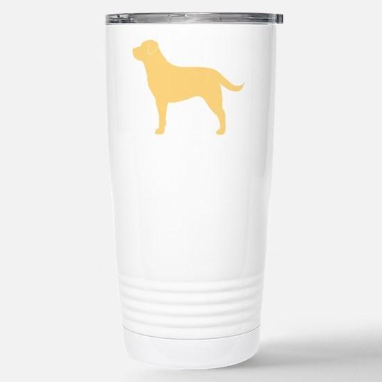 Yellow Lab Stainless Steel Travel Mug