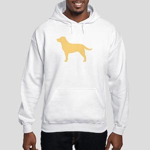 Yellow Lab Hooded Sweatshirt