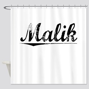 Malik, Vintage Shower Curtain