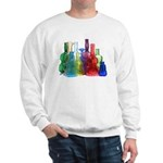 Violin Bottles Photo #2 Sweatshirt