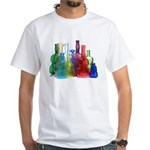 Violin Bottles Photo #2 White T-Shirt