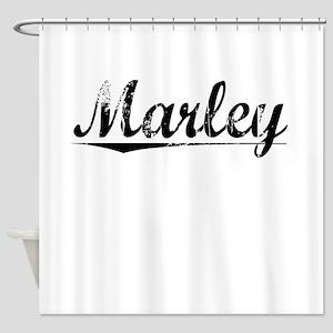Marley, Vintage Shower Curtain