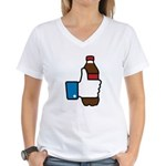 I Like Soda Women's V-Neck T-Shirt