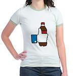I Like Soda Jr. Ringer T-Shirt