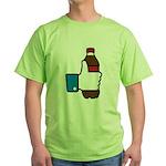 I Like Soda Green T-Shirt