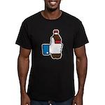 I Like Soda Men's Fitted T-Shirt (dark)