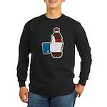 I Like Soda Long Sleeve Dark T-Shirt