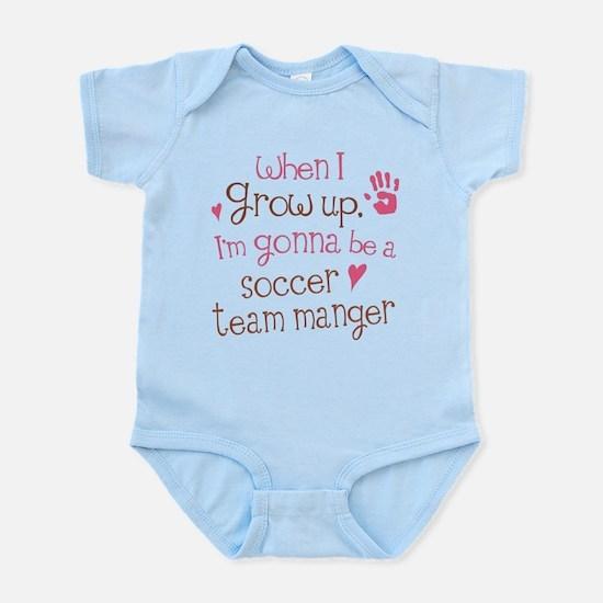 Future Soccer Team Manager Infant Bodysuit