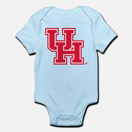 Houston Logo Red Infant Bodysuit
