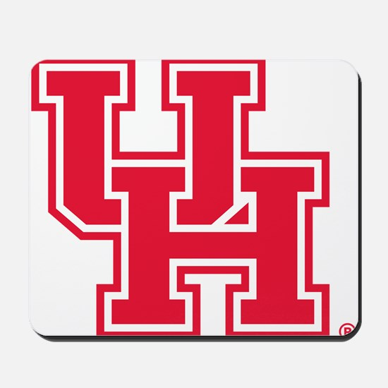 Houston Logo Red Mousepad