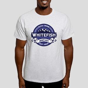Whitefish Logo Midnight Light T-Shirt