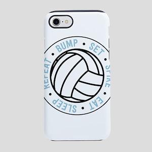 Volleyball. Bump. Set. Spike.  iPhone 7 Tough Case