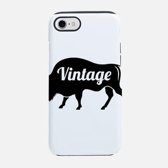 vintage iPhone 7 Tough Case
