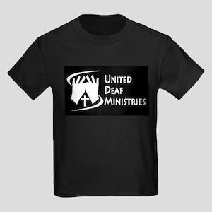 United Deaf Ministries Kids Dark T-Shirt