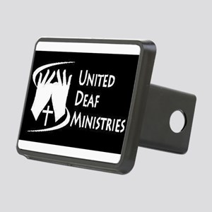 United Deaf Ministries Rectangular Hitch Cover