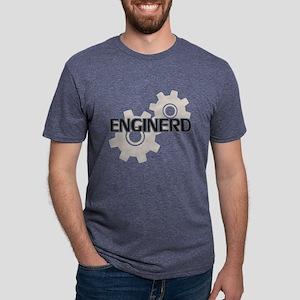 Enginerd Engineer Nerd Mens Tri-blend T-Shirt