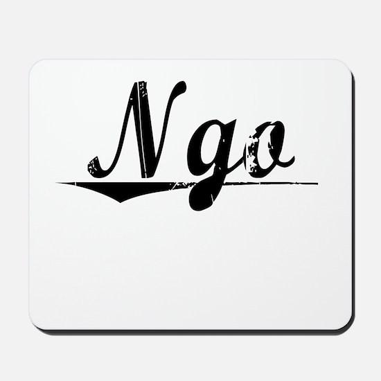 Ngo, Vintage Mousepad