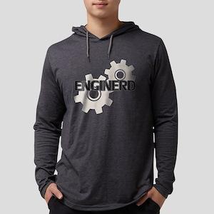Enginerd Engineer Nerd Mens Hooded Shirt