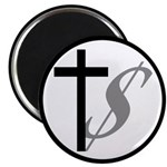 Atheist, Church and Money Magnet