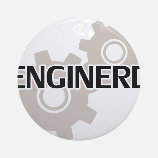Cute Computer engineering Round Ornament