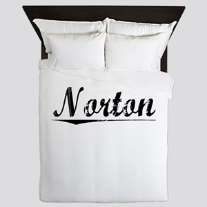 Norton, Vintage Queen Duvet