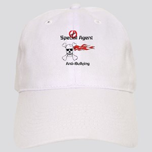 anti bullying special agent skull crossbones Cap
