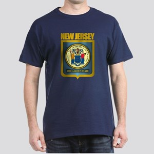 New Jersey Seal (B) Dark T-Shirt