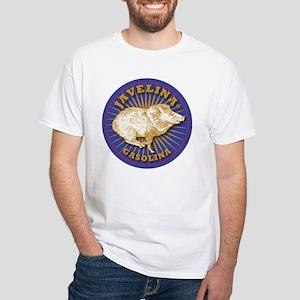 Javelina Gasolina White T-Shirt