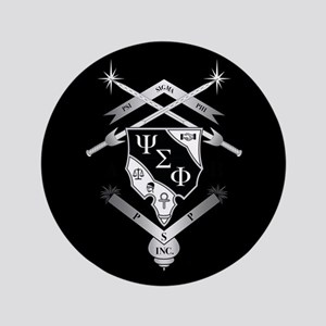 Psi Sigma Phi Crest Button