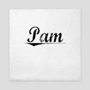 Pam, Vintage Queen Duvet