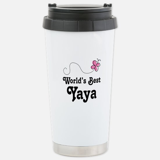 Yaya (Worlds Best) Stainless Steel Travel Mug