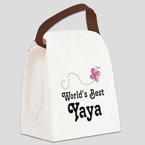 Yaya (Worlds Best) Canvas Lunch Bag
