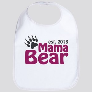 Mama Bear Claw Est 2013 Bib
