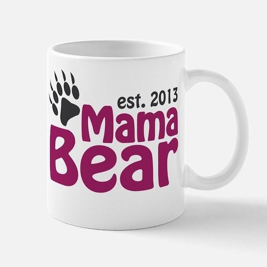 Mama Bear Claw Est 2013 Mug
