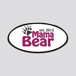 Mama Bear Claw Est 2013 Patches