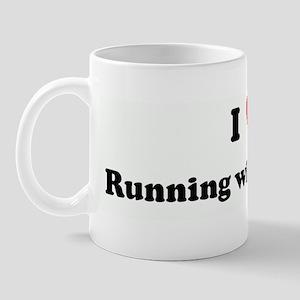 I Love Running with Scissors Mug