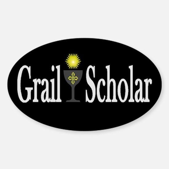 Grail Scholar Dark Oval Decal