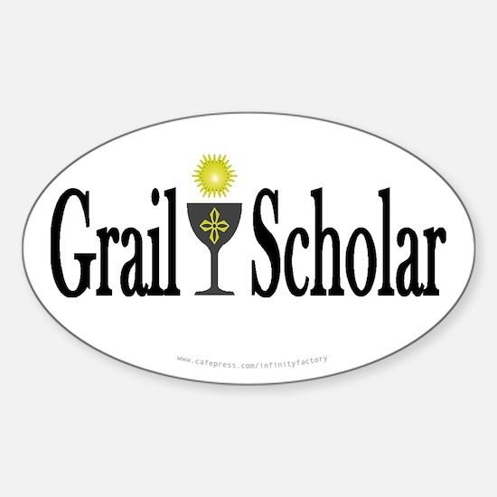 Grail Scholar Oval Decal