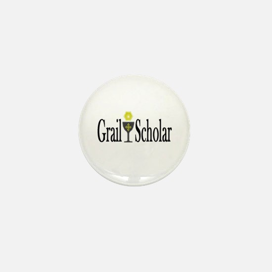 Grail Scholar Mini Button