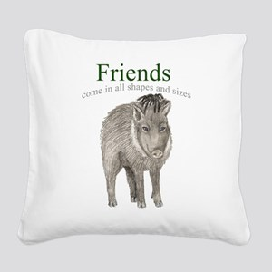 Penny - Friends Square Canvas Pillow