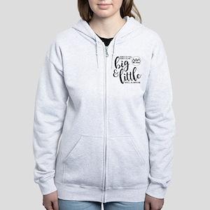 Delta Phi Lambda Big Little Women's Zip Hoodie