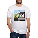 Vet Taxidermist Fitted T-Shirt