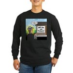 Vet Taxidermist Long Sleeve Dark T-Shirt