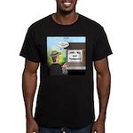 Vet Taxidermist Men's Fitted T-Shirt (dark)
