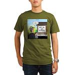 Vet Taxidermist Organic Men's T-Shirt (dark)