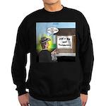 Vet Taxidermist Sweatshirt (dark)