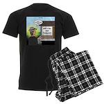 Vet Taxidermist Men's Dark Pajamas