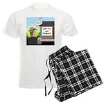 Vet Taxidermist Men's Light Pajamas