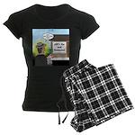 Vet Taxidermist Women's Dark Pajamas